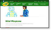 Crayola Kids' Playzone
